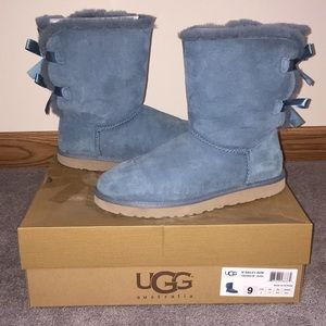 Teal Bailey Bow UGGs